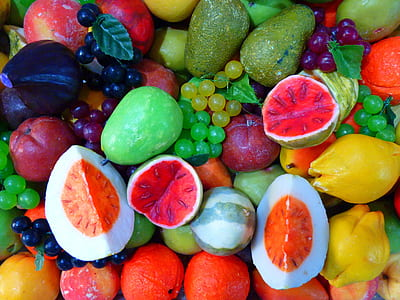 assorted-color of fruits