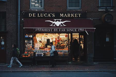 De Luca's Market front store