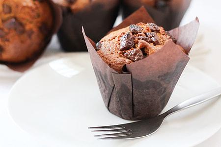 Brown Sugar Chocolate Muffins
