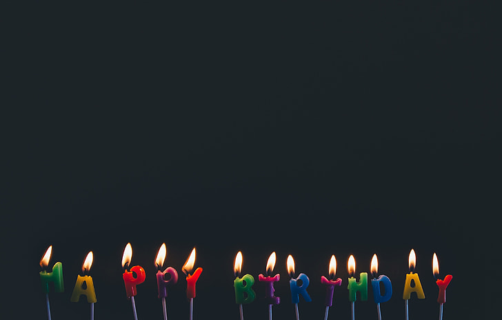 Photo Of Happy Birthday Candles