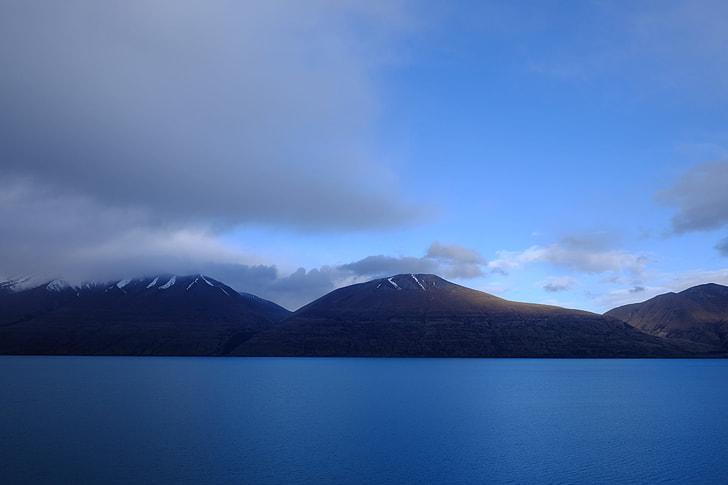 nature, lake, mountain, landscape