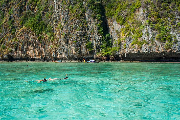 Snorkelling Clear Sea Water