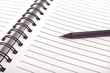 Close-up of Pen on Table