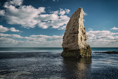 Rock formation on the Jurassic Coast in Dorset, England