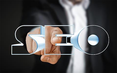 SEO logo illustration