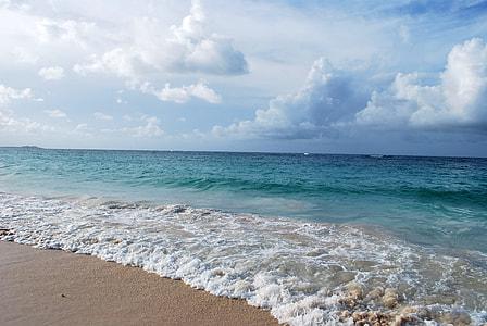 beach shore line