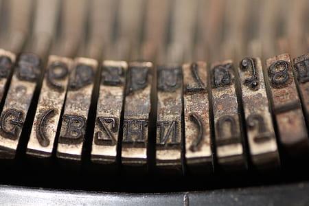 photo of typewriter