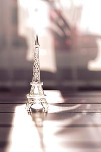 Glass Eiffle tower