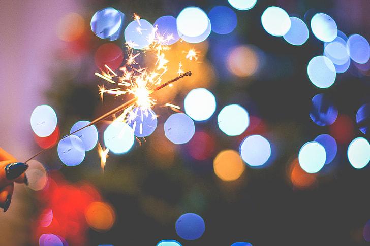 Christmas Sparklers Fun