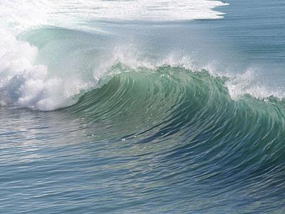 ocean barrel waves