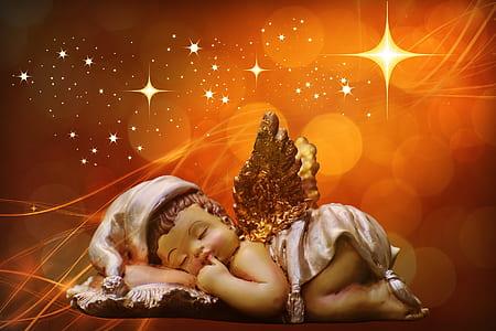 illustration of cherub