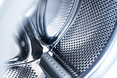 Inside Laundromat Washing Machine Drum Interior View #2