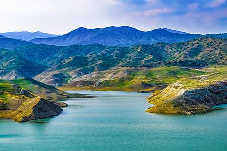 landscape photograph of mountains