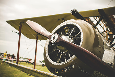 Old Plane Propeller