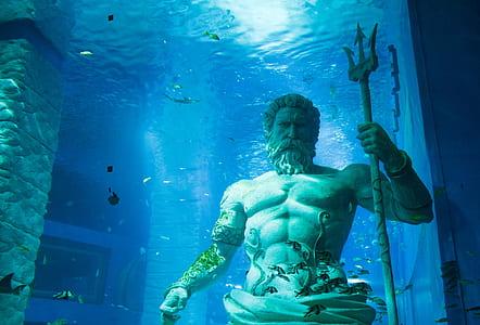 photo of Poseidon statue