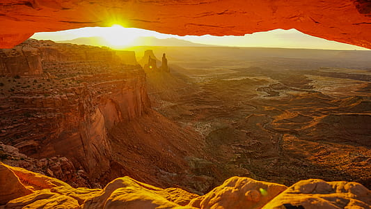 landscape photo of Arches National Park