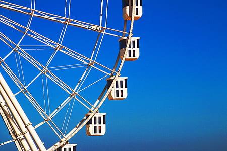 Beige Ferris Wheel