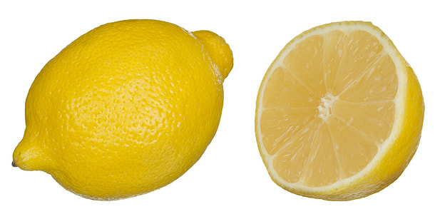 yellow lemon fruit