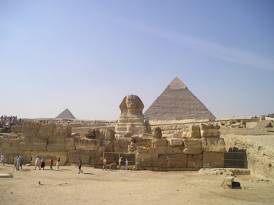 The Great Pyramid of Giza, Egypt