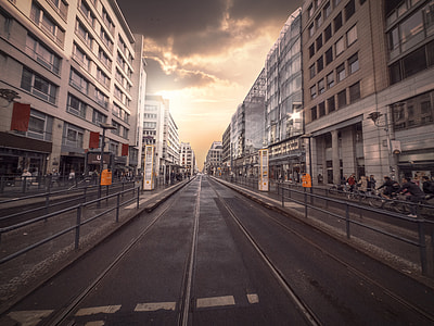 landscape photograph of empty road