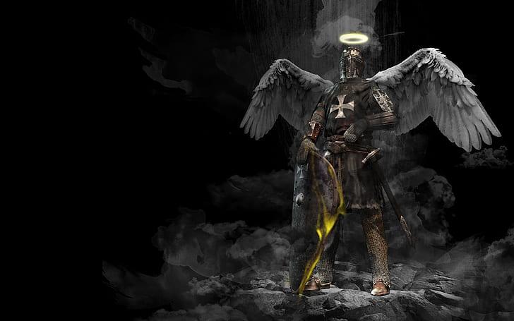 knight angel wallpaper