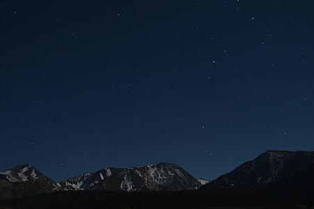 photo of a sky on night