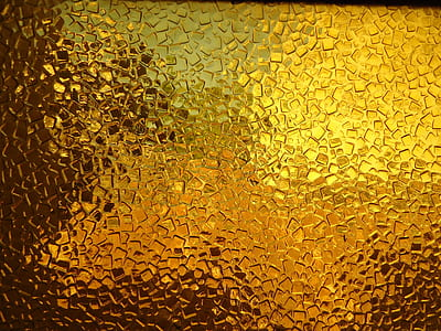 closeup photo of mosaic glass