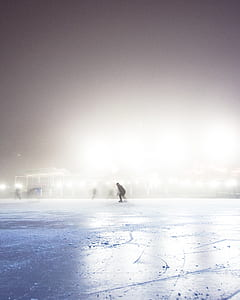 time lapse photography of person skating