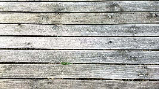 gray wooden plank board