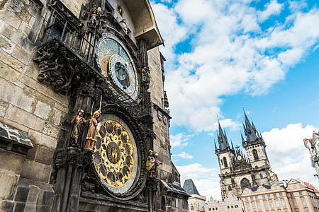 Astronomical Clock in the Old Town Square, Prague