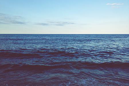 open ocean during daytime