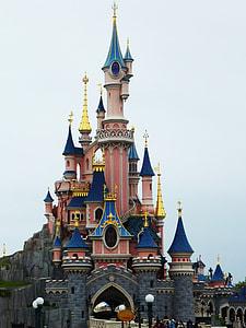 Disney Land castle photography
