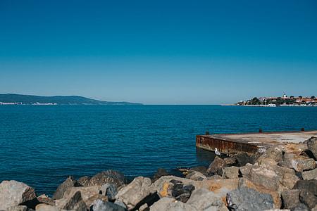 Coast of the Black Sea, Sunny Beach, Bulgaria