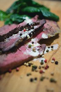 Pepper Roast Beef Steak