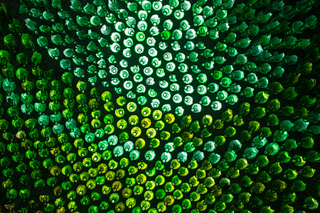 Green abstract image