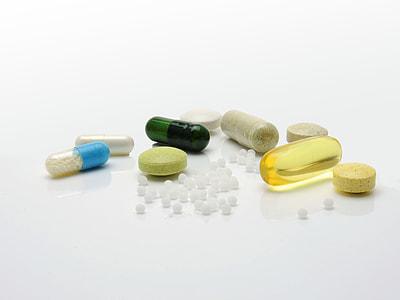 assorted medication pill
