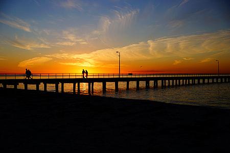 photo of sea dock