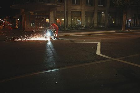 Working Street Night