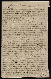 vintage letter sheet