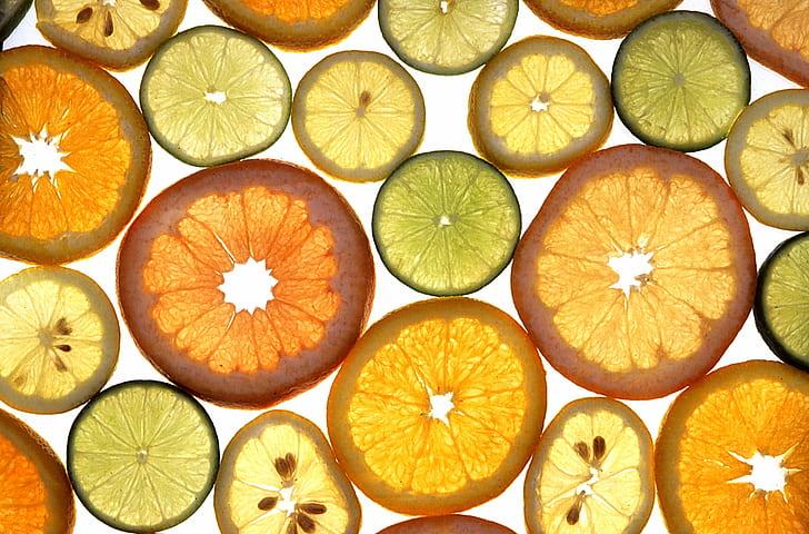 sliced fruit illustration