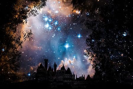 castle under the sky