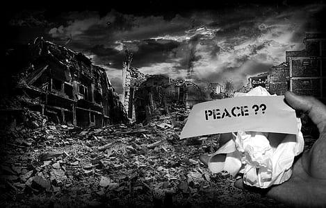 Peace?? illustration