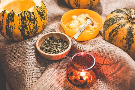 Preparing and Carving Halloween Pumpkins