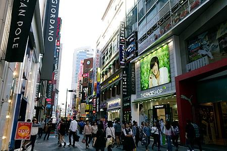 PUMA store signage during daytime