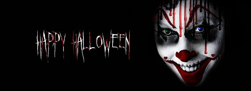 Happy Halloween digital wallpaper