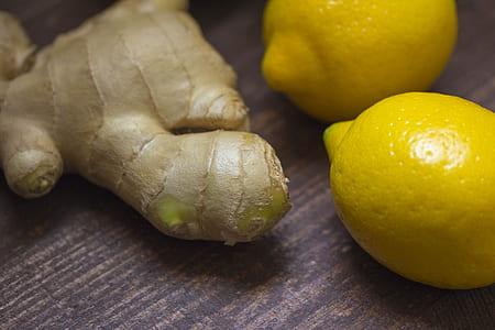 lemonade and ginger
