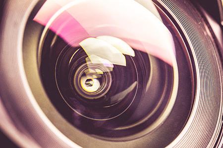 Dreamy & Colorful DSLR Lens Close Up