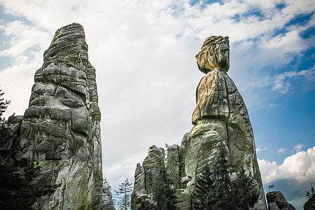 Adrspach-Teplice Rocks in Czech Republic