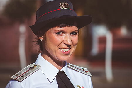 Selective Photography of Woman Government Officer