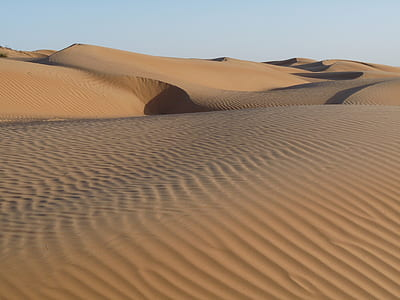 landscape photograph of desert